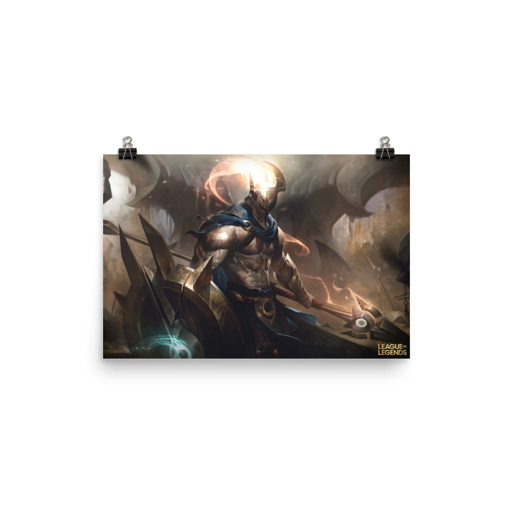pantheon posters riot games store