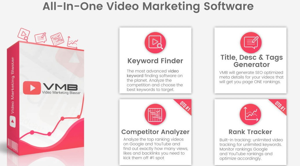 VMB1 - Video Blaster Software - 3 Clicks To Rank #1 On Google & YouTube
