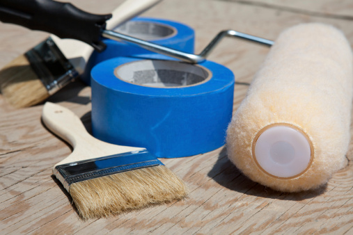 Renovation House Painting Supplies