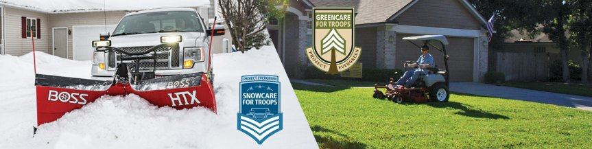 Project Evergreen, Snowcare For Troops, Greencare For Troops