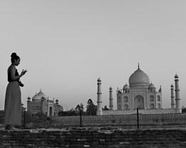 Taj Mahal from Mehtab Bagh, Agra