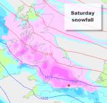widespread snowfall across the UK