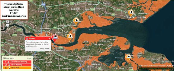 Environment Agency live updates