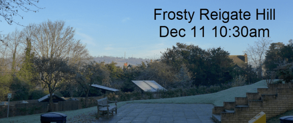 frosts were few