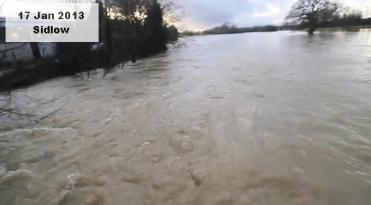 Sidlow Bridge nearly shut