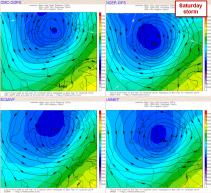 Saturday storm: models agree