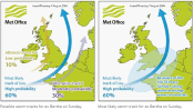 Met Office Channel route