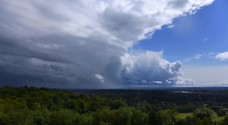 departing squall line Reigate