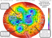 overall 500hPa vortex pattern
