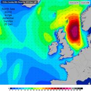 GFS big waves in N Sea