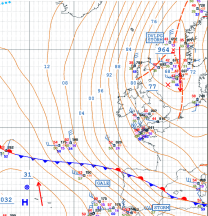 northerly arctic airmass
