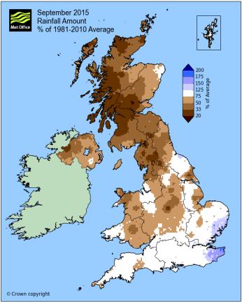 Reigate average rain