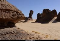 Bodélé Depression sand erosion