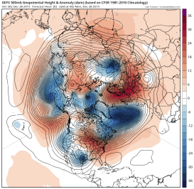 deep Atlantic trough squares up to Scandi high