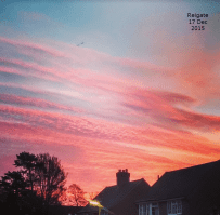 Reigate sunrise Dec 2015