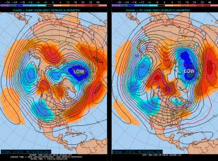 lower Polar pressure