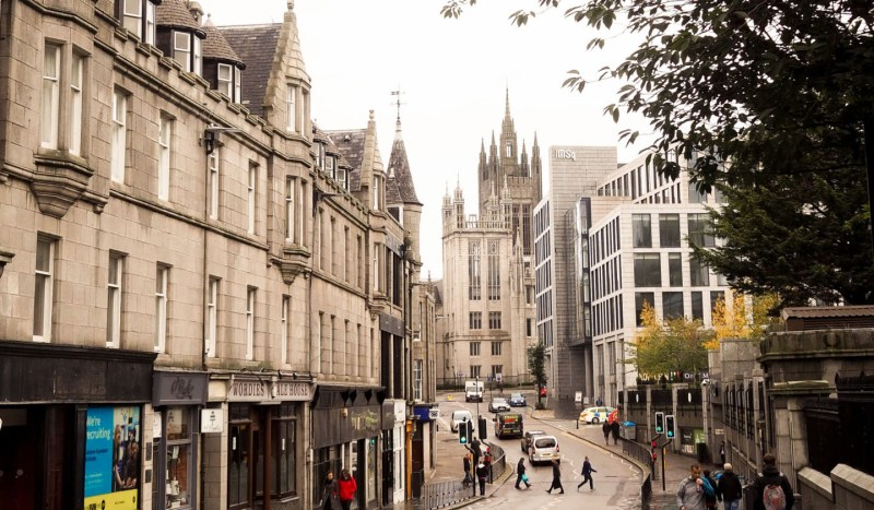 Aberdeen is the safest Scottish city!
