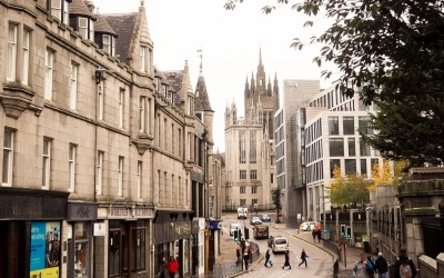 Aberdeen is the safest Scottish city!