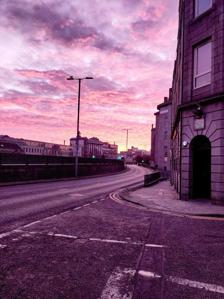 St Andrews street Aberdeen, Scotland