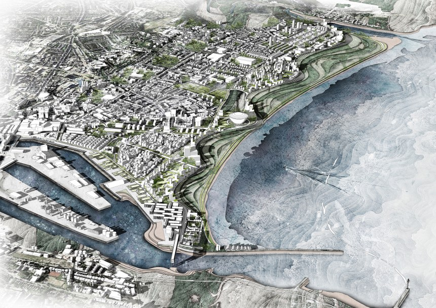 Before flooding - Drawn North Virtual Architecture Exhibition