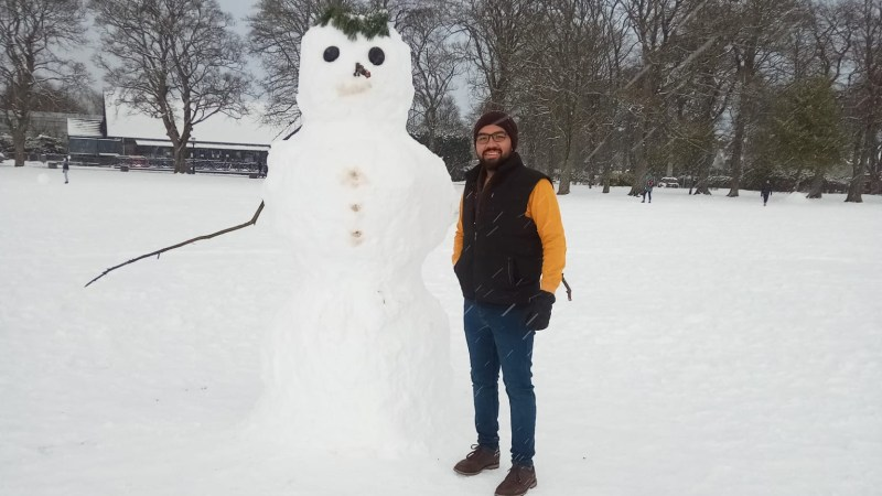 Anil Daniel, a student of the MSc Advanced Architectural Design at RGU, writes about securing a scholarship and pursuing his passion in Architecture.