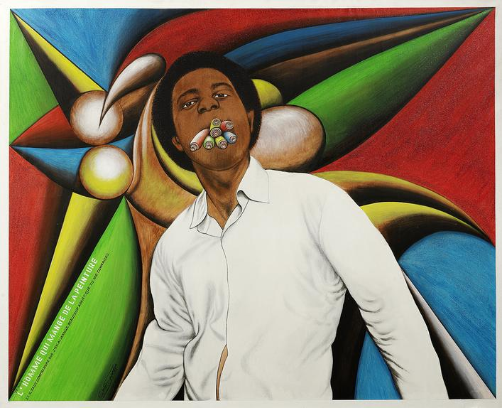 Chéri Samba, 'I am the man who eats paint,' 2005.