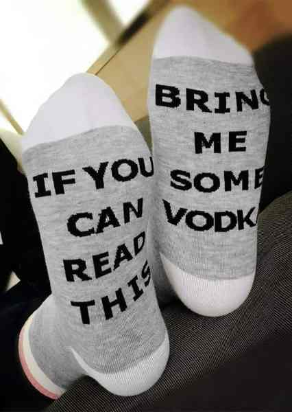 If you can read this bring me some vodka