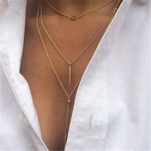 Women Layered Chain Necklaces & Pendants Jewelry