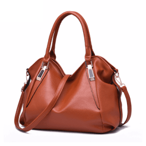 New Classical Women Large Handbag PU Leather Shoulder Bag