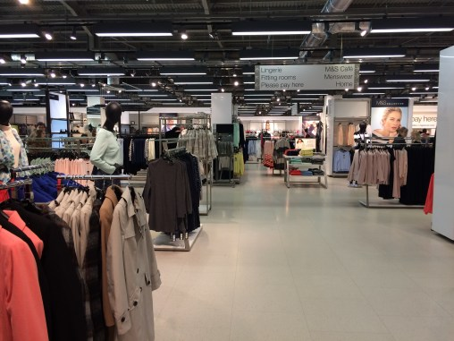 Welcome to M & S, you won't believe its not Primark