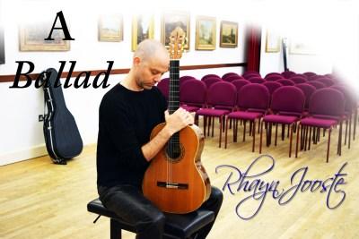 Rhayn Jooste A Ballad