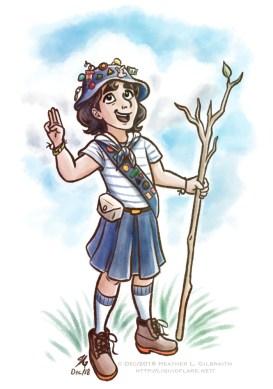 Girl Guide Sable