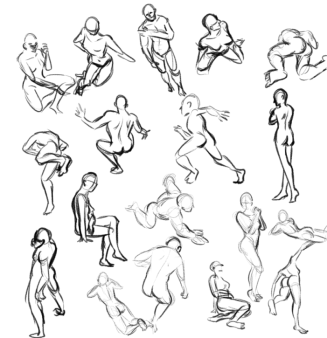 Pose Sketches