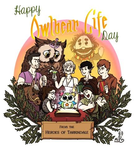 Happy Owlbear Life Day