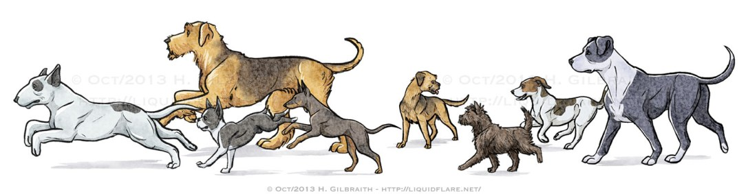 Trotting Terriers