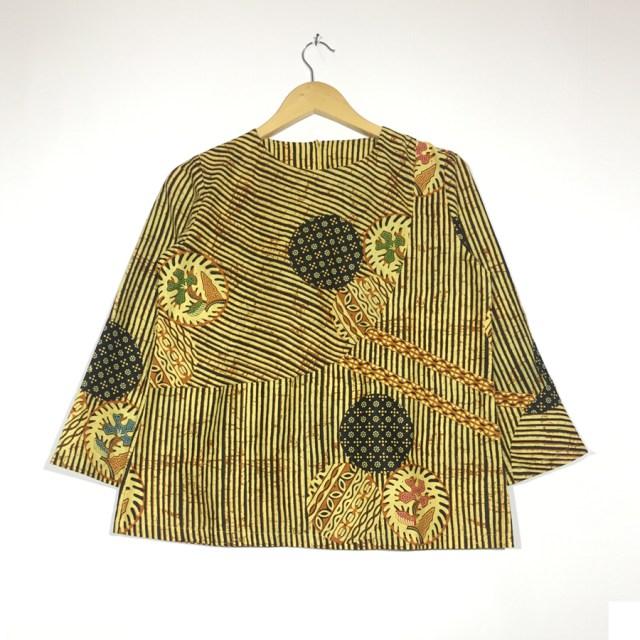 atasan blouse batik lengan panjang - kanna blouse