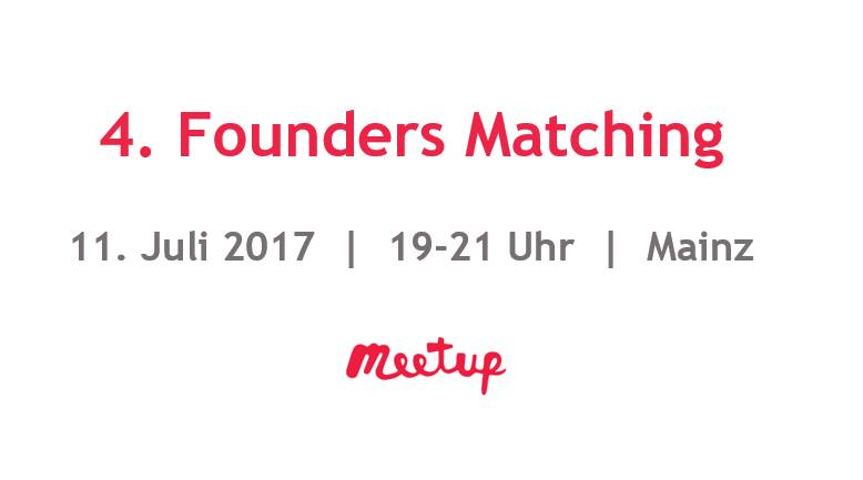 4. Founders Matching