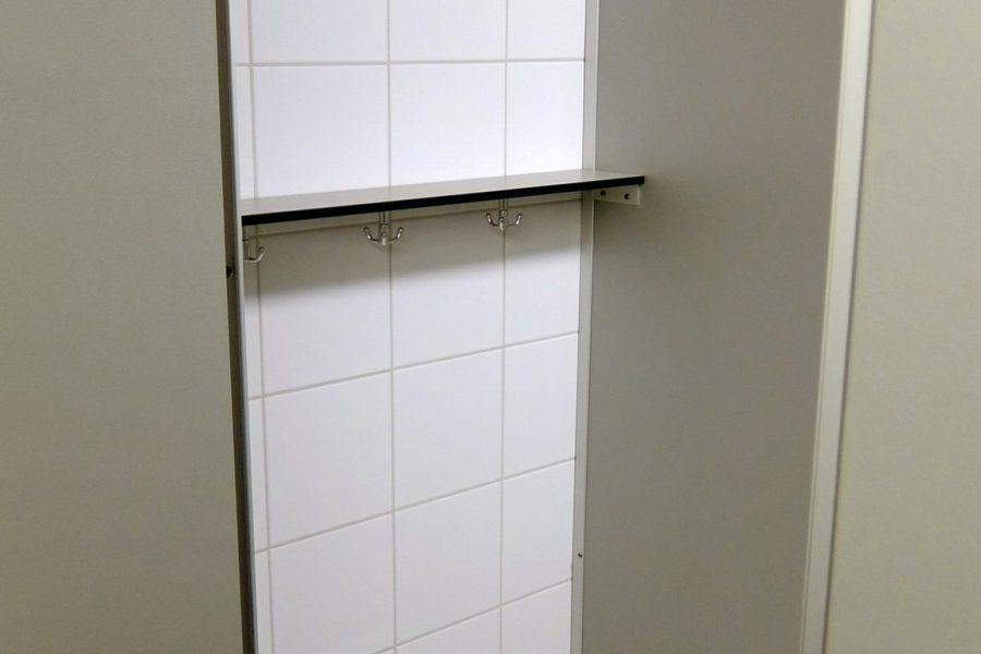 Dusche Umziehbereich