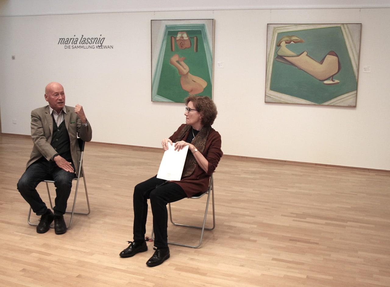 """Maria Lassnig – Die Sammlung Klewan"" – Käthe Kollwitz Museum"