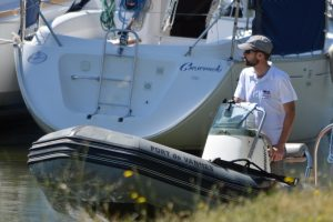 Hafenmeister Vannes im Einsatz