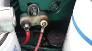 Z-Antrieb lässt sich nicht mehr trimmen - Sicherung für Trimmeinrichtung Z-Antrieb