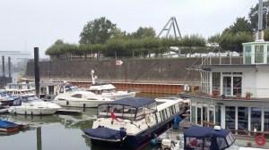 Savvy - 30 Meter Schiff aus Penzance - Training mit der Motoryacht auf dem Rhein