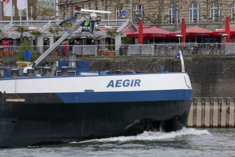 Binnenmotorschiff Aegir