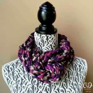 Twilight Infinity Scarf by Oombawka Design