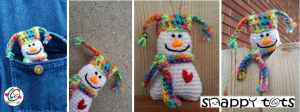 Itty Bitty Snowman by Snappy Tots