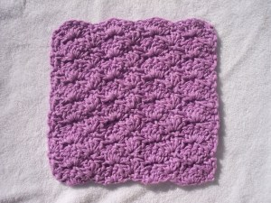 A Shell of a Washcloth by Stitch11