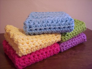 Simple and Practical Dish Cloth by Stitch11
