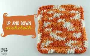 Up and Down Dishcloth by Oombawka Design