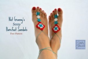 Not Granny's Sassy Barefoot Sandals by Simply Collectible