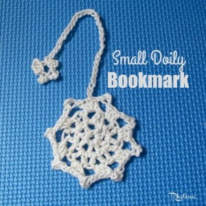 Small Doily Bookmark by CrochetN'Crafts